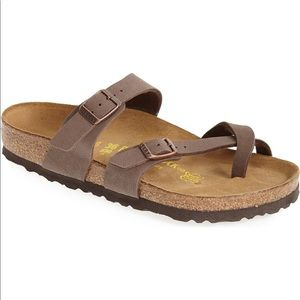 NEW 8 / 39 Birkenstock Mayari Faux Leather Sandals